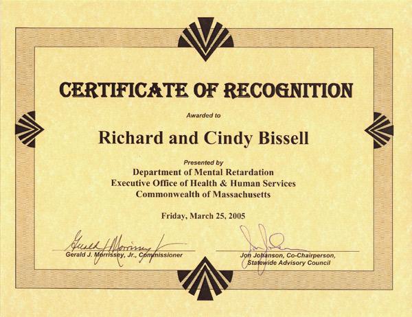 certificate – bissells.com