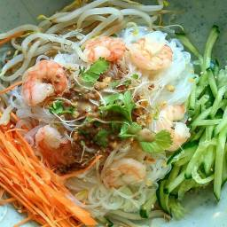 Salade de crevettes - Bistro Zakka - Bao Lyon