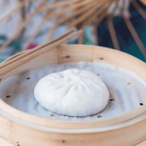 bao pomme - Bistro Zakka - bao Lyon - Restaurant chinois