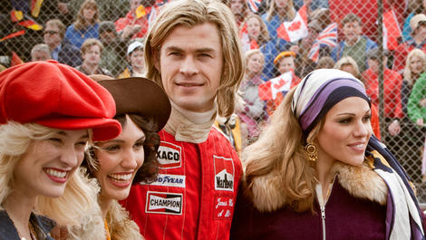 Chris Hemsworth protagoniza 'Rush'