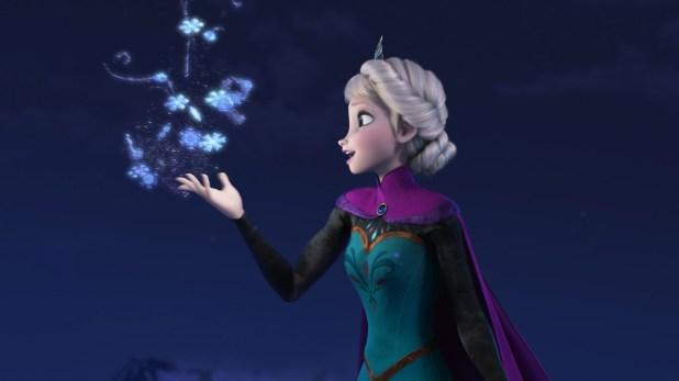 Elsa en 'Frozen: El reino del hielo'