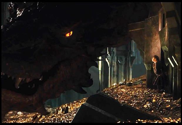 Smaug en el trailer del 'Hobbit: la desolación de Smaug'