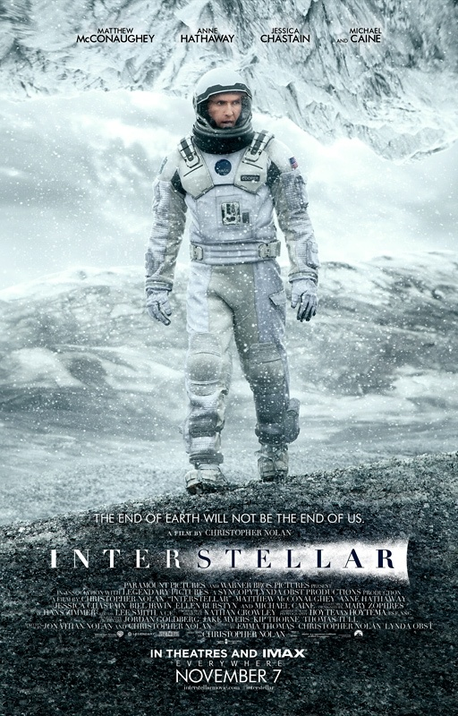 Poster de 'Interstellar'