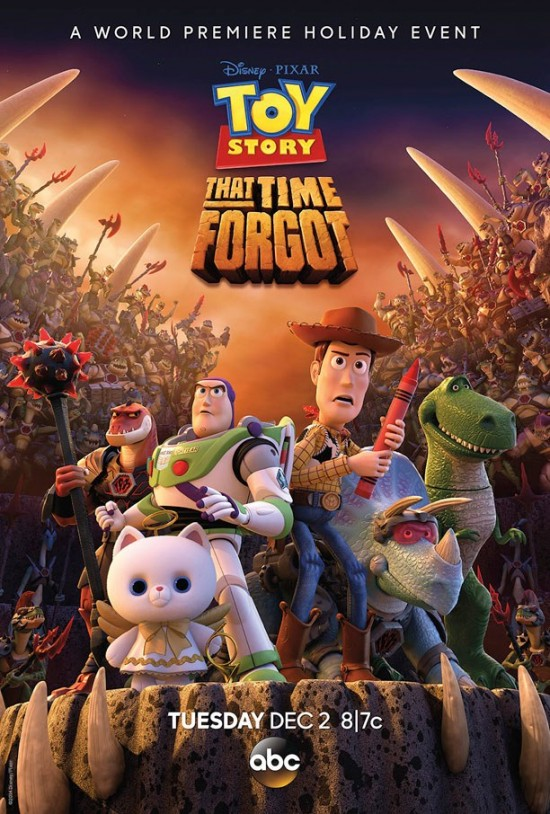 poster toy story that time forgot