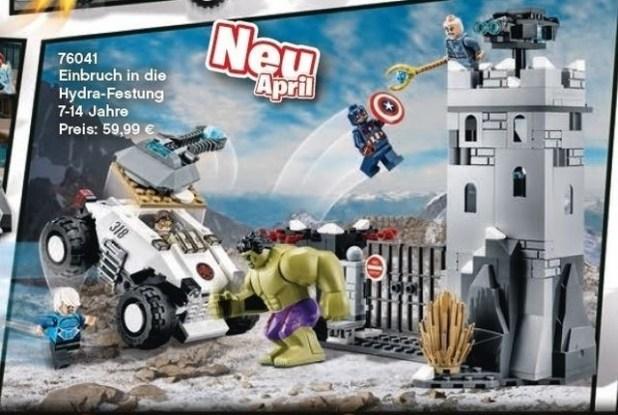 Vengadores Ultron Lego 4
