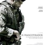 Poster oficial español de 'El Francotirador'