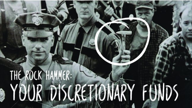 The Rock Hammer: Your Discretionary Funds