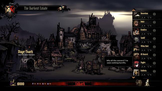 Darkest Dungeon.