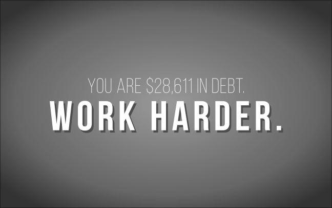 Debt Visualization Then