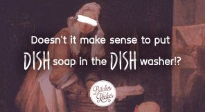 How the Hell Does One Wash Dishes? Asking for a Friend.