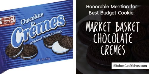 Best Budget Cookie: Market Basket Chocolate Cremes