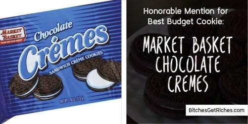 Best Budget Cookie: Market Basket Chocolate Cremes