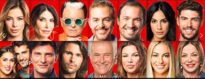Grande Fratello Vip 2 Cast