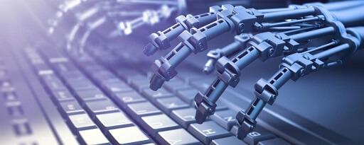 ai robot keyboard small