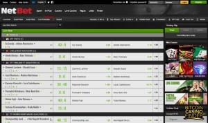 NetBet screenshot - Bitcoin Casino Finder