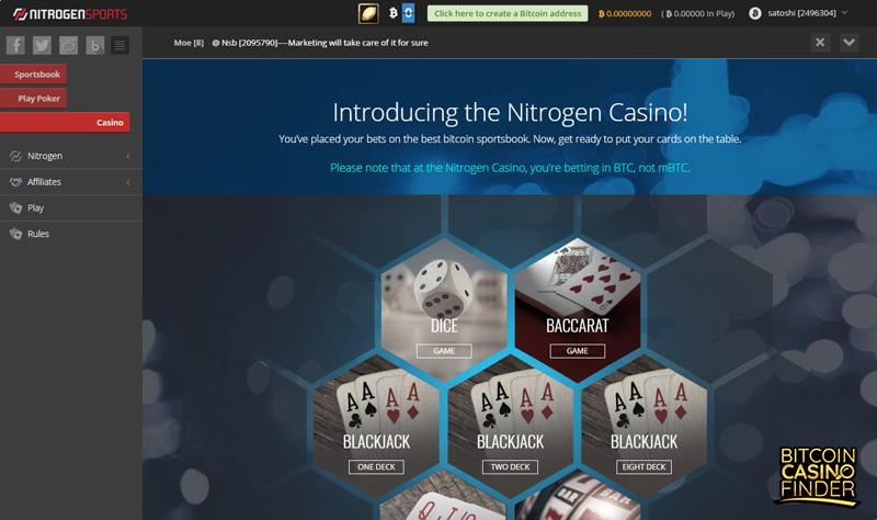 NitrogenSports Casino Review 2018 - Quality Games & Quality