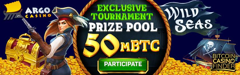 Argo Casino Exclusive Tournament Prize Pool