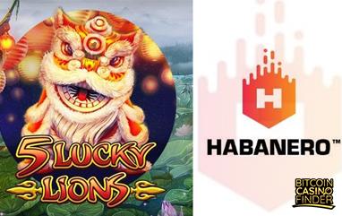Habanero Adds 5 Lucky Lions Slots To Portfolio