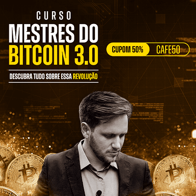 Comprar com desconto Mestres do Bitcoin Completo Versão 3.0