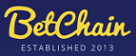 Logo Bitcoin gambling website Betchain logo