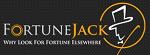 Logo Bitcoin gambling website Fortunejack