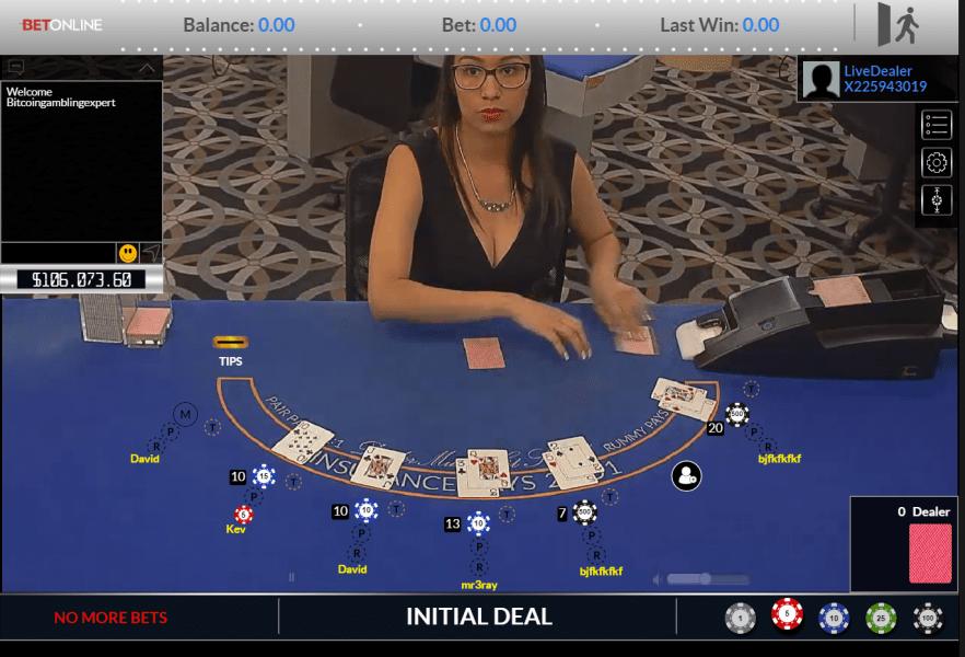 Bitcoin gambling website betonline casino