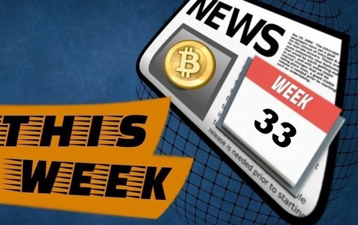 Crypto news week 33