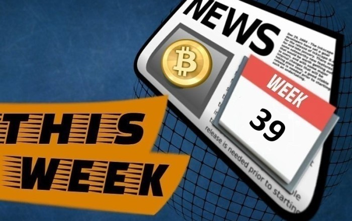 Crypto news week 39