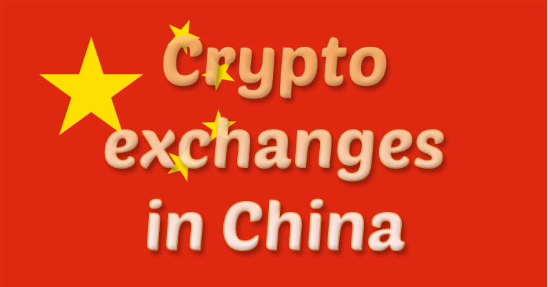 Crypto exchanges in China