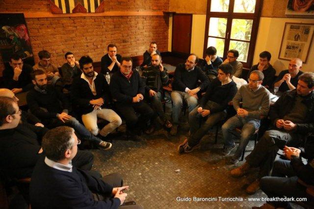 La prima assemblea dei soci di Bitcoin Foundation Italia. Fonte: www.breakthedark.com