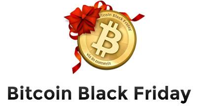 """Venerdì 29 sarà il """"Bitcoin Black Friday"""", un giorno intero di sconti per chi comprerà con i bitcoin."""