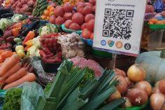 Kiev's Bessarabsky Market Accepts Cryptocurrencies for Groceries 3