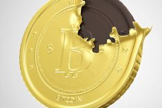 How About Walmart Chocolate Bitcoins? 6 for a Dollar 6