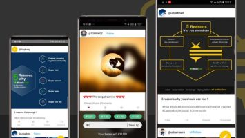 Developers Launch Bitcoin Cash Social Media App 'Hivr' 1