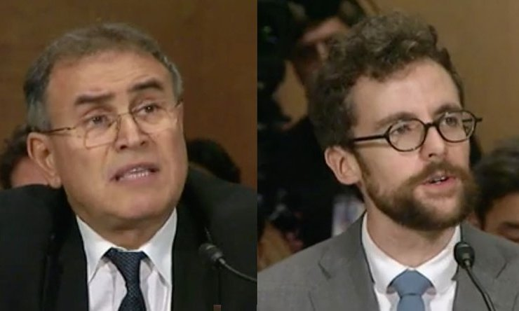 Roubini Faces Off With Coin Center's Van Valkenburgh at Senate Hearing 1