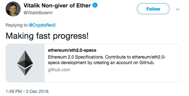 """Making Fast Progress"", Vitalik Buterin on Ethereum Scaling Problem 2"