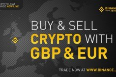 Binance launches Fiat trading: Bitcoin and Ethereum trading against EUR and GBP 9