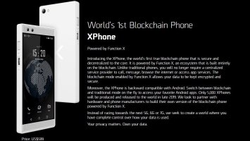 XPhone World's 1st Blockchain Phone has arrived at MWC19 Barcelona 2