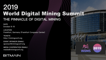 PR: Bitmain Announces Highly Anticipated World Digital Mining Summit 3