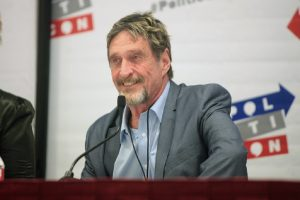 John McAfee Accused Of Plagiarism, PIVX Claims McAfee Copied A Section For Ghost Project 1