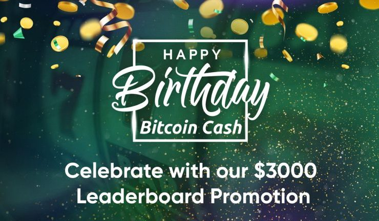 Bitcoin Cash Games Launches $3K Leaderboard Tournament to Celebrate the 3rd BCH Anniversary 1