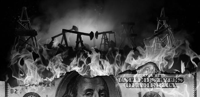 petro dollar collapse