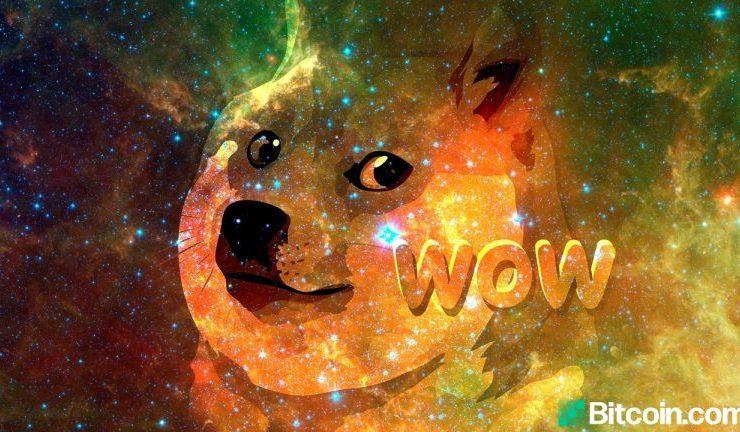dogecoin markets soar as token nears a half dollar doge prices climb 18299 in 12 months 768x432 1