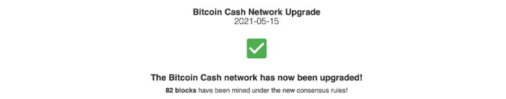 Bitcoin Cash Upgrades Successfully: Network Features Work as Intended