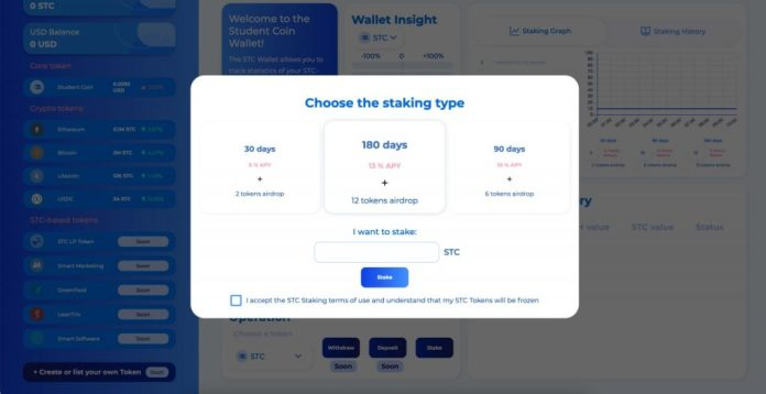 Student Coin Now Offers STC Staking - Will It Change the Future of the Digital Economy?