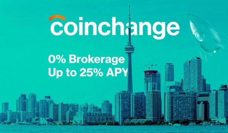 coinchange announces truly 0 fee brokerage and 25 apy defi platform that is secure and regulated 768x432 1