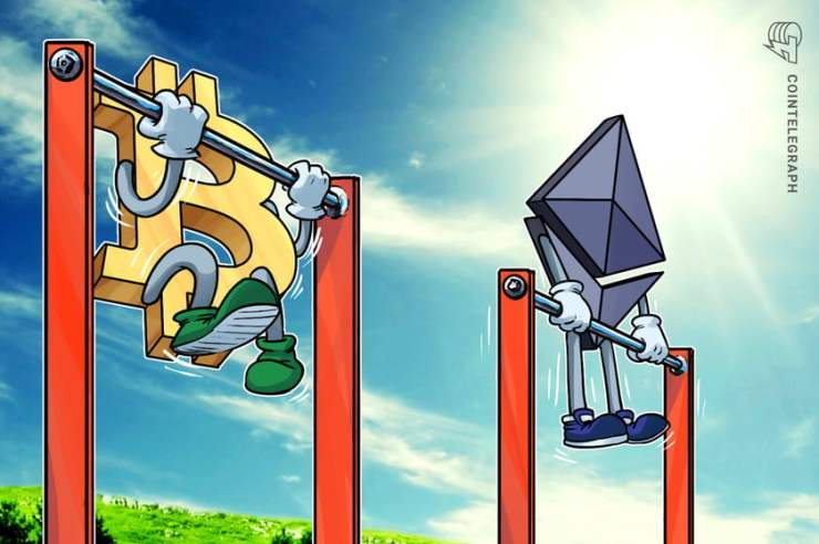 150889 ethereum price poised for 40 rally vs bitcoin after breaking out of four month range