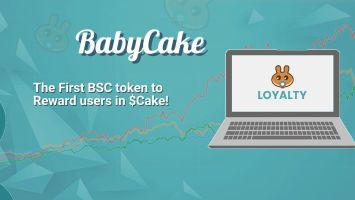 First BSC Token to reward you in cake