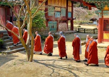 korean monks
