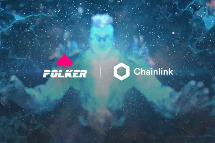 polker is integrating chainlink price feeds into its multi crypto marketplace